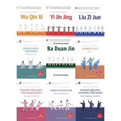 Gesundheits-QiGong Bücher