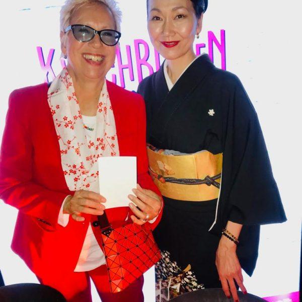 Misayo Kawashima mit Doris Dörrie