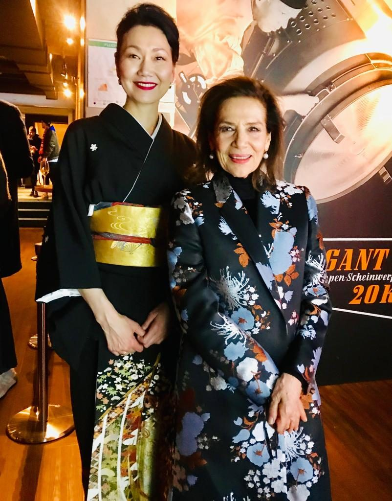 Hannelore Elsner mit Misayo Kawashima